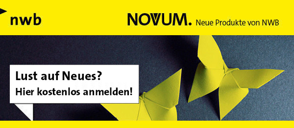 NOVUM. Neue Produkte von NWB